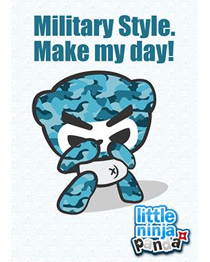MilitaryLittleNinjaPanda