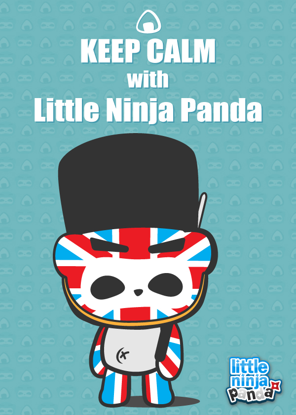 British Style Little Ninja Panda